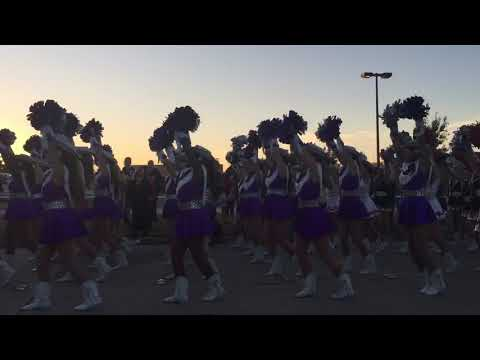 2017-11-01 Plano Senior High Homecoming Parade 1