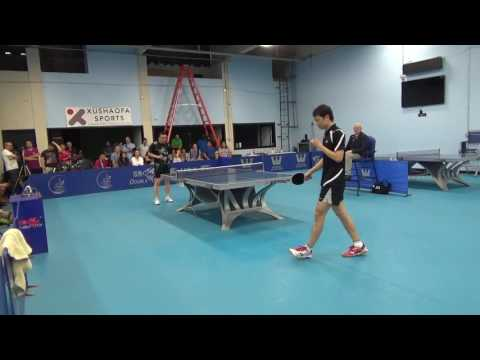 He ZhiWen vs Wu Junhan Open SF (recording begins at 3-3 in first game, I believe)