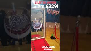 MAGIC MIRROR (PHOTOBOOTH) From INSPIRE PARTY HIRE