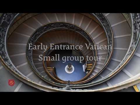 Early Entrance Vatican Small Group Tour | LivItaly Tours |