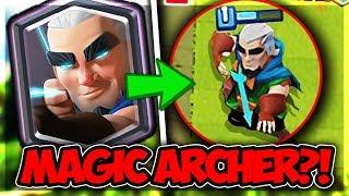MAGIC ARCHER! ● NOVÁ LEGENDÁRKA! 😱 | Clash Royale CZ/SK | Ogy