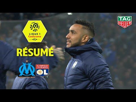Olympique de Marseille - Olympique Lyonnais ( 2-1 ) - Résumé - (OM - OL) / 2019-20