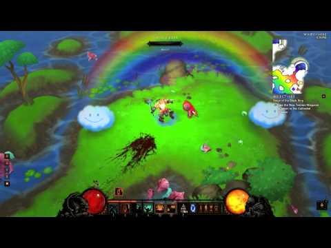 how to find rainbow goblin in diablo 3