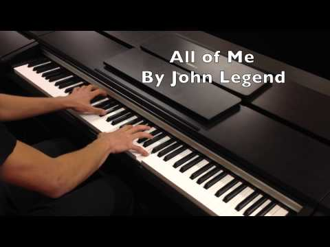 ♫ All Of Me - John Legend Piano Cover ♫ + ** FREE SHEETS ** (HD)
