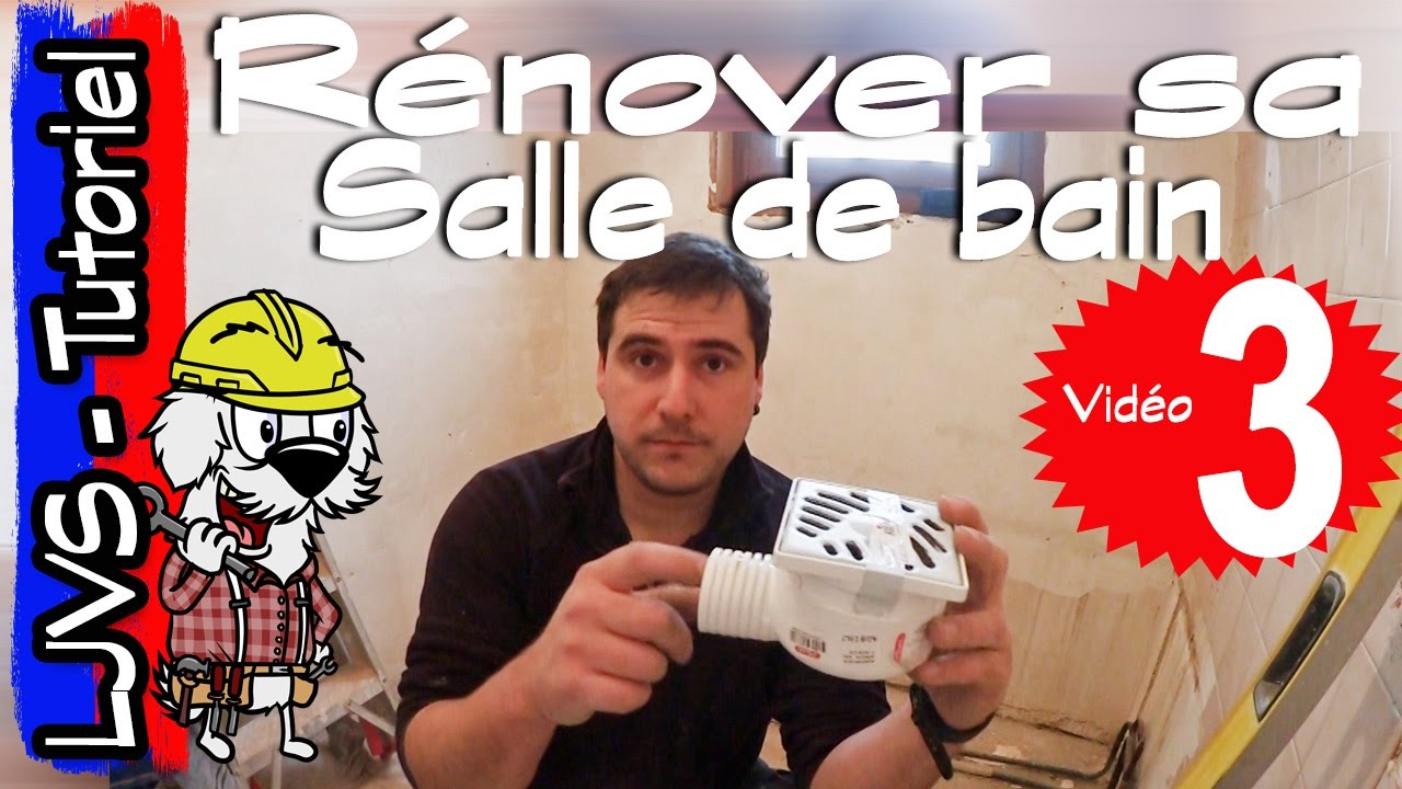 comment renover une salle de bain partie 3 tutoriel ljvs youtube. Black Bedroom Furniture Sets. Home Design Ideas