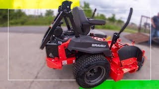 2019 Gravely Pro-Turn ZX 52 First Impression (zero turn mower)