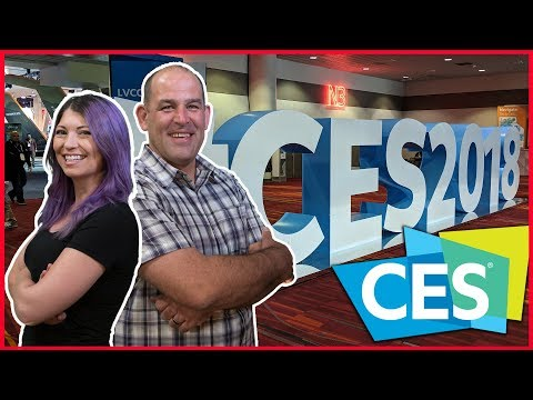CES 2018! New TVs From LG, Samsung, TCL, HiSense, Virtual Reality, 1TB Flash Drives, and more!