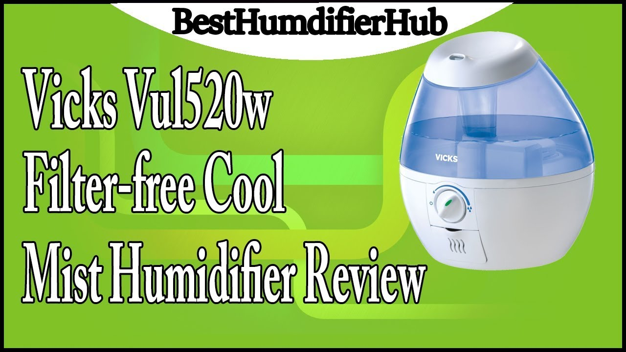 Vicks Filter Free Cool Mist Humidifier Review