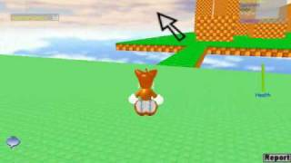 Sonic The Hedgehog: Random Stuff on Roblox
