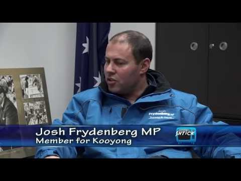 THE SHTICK S45-08 Seg.1 Josh Frydenberg MP, chatting to Henry in his office