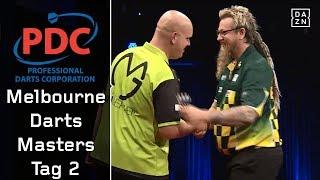 Drama zwischen Michael van Gerwen und Simon Whitlock | Highlights | Melbourne Darts Masters | PDC