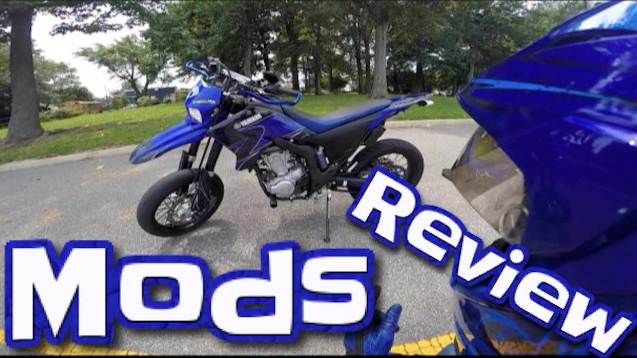 2008 WR250X Mods + Walkaround + Review - YouTube