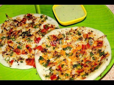 Masala Uttappa/Uthappa/Uthappam Recipe/South Indian Breakfast Recipe/Indian Street Food