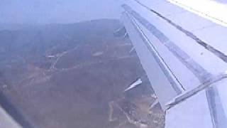 Landing in Heraklion Crete (Nikos Kazantzakis Airport)
