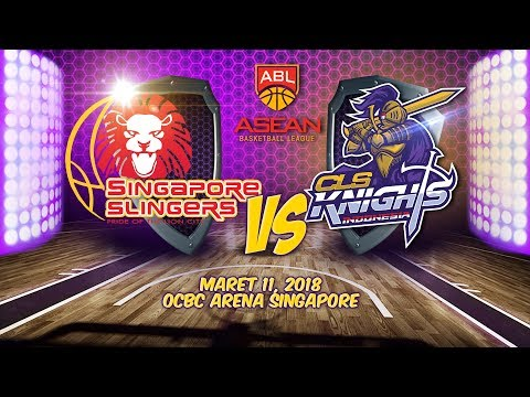 Singapore Slingers VS CLS Knights Indonesia | ABL 2017 - 2018 Mp3