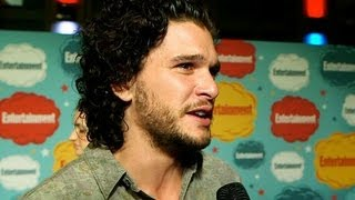 Game of Thrones' Kit Harington on the Fan Who Didn't Believe He Was Jon Snow   Comic-Con 2013