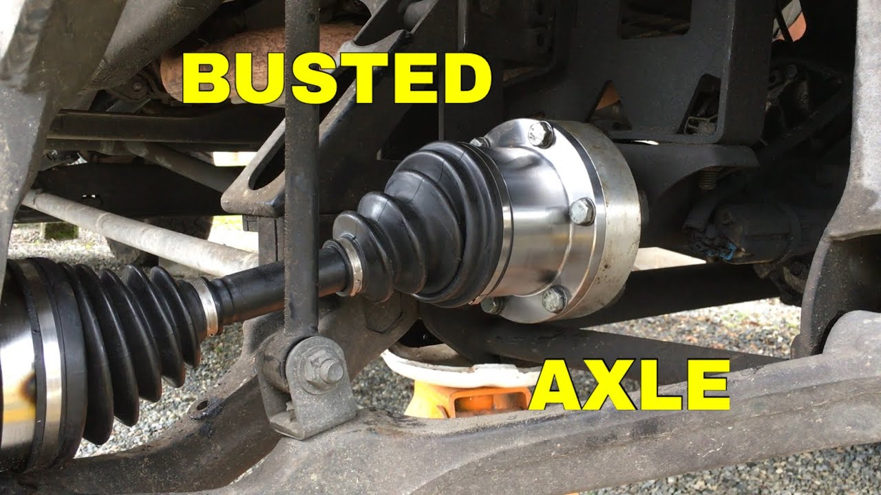 2006 GMC Sierra 3500 front axle replacement  YouTube