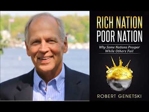 Robert Genetski Author Interview with Conservative Book Club (Rich Nation Poor Nation)
