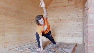 Комплекс по хатха йоге - средний уровень.
