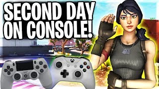 """FORTNITE CONSOLE TIPS FOR BEGINNERS! """"I'm Already Playing This Good!"""""""