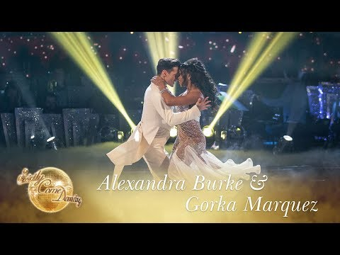 Alexandra and Gorka Viennese Waltz to 'Everybody Hurts' by R.E.M - Strictly Come Dancing 2017