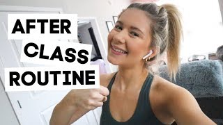 after school routine | how to be productive after class (col…