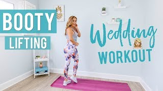 Booty Lifting Wedding Workout | Shape Your Bum For Tight Dresses