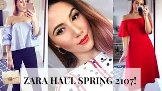 ZARA HAUL SPRING 2017 + TRY ON! | Through Mona's Eyes