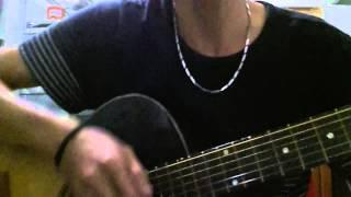 Cho Anh Xin Số Nhà mới tập đánh guitar
