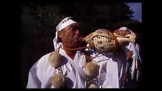 Japanese Conch shell blowing melodies (Horagai)