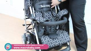 MacroBaby - Kinderwagon Hop Tandem Umbrella Stroller