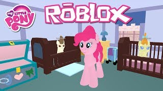 Babysitting The Cake Twins! Roblox: My Little Pony 3D: Roleplay is Magic