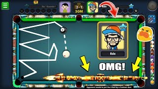 I WAS SHIVERING INSIDE WHEN HE PULLED OUT THIS RIDICULOUS CUE IN 8 BALL POOL...(watch what he did)