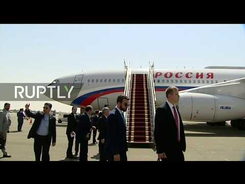 Live: Putin arrives in Tehran for trilateral talks with Rouhani and Erdogan