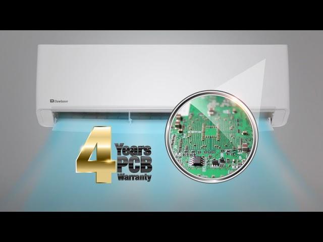 Dawlance Inverter AC 4 years PCB Warranty - Longest inverter Warranty