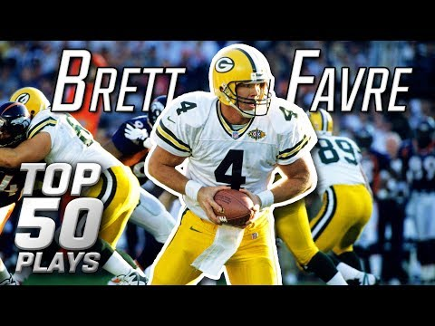 Brett Favre Top 50 Most Incredible Plays of All-Time | NFL Highlights
