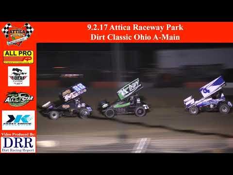 9.2.17 Attica Raceway Park - Dirt Classic Ohio A-Main