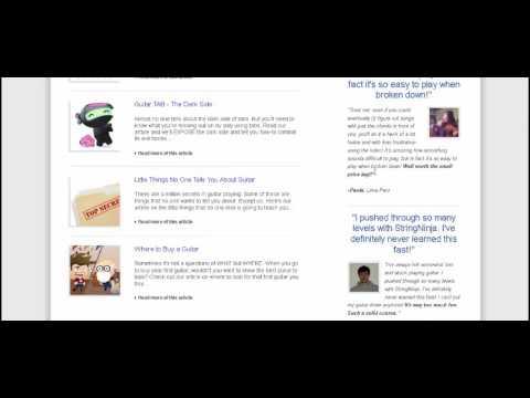 String Ninja Guitar Lessons Review - Is It Legit?