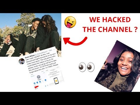 Crissy Danielle And Mila Locks Domo Wilson Out Of Their Old Domo And Crissy Channel ??