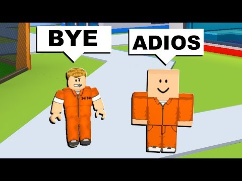 PLAYING ROBLOX IN A DIFFERENT LANGUAGE 2