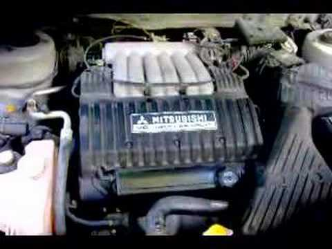 98 mitsubishi diamante youtube rh youtube com Mitsubishi Mini Truck Wiring Diagram Mitsubishi Forklift Wiring Diagram