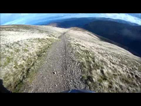 MTB crash Helvellyn,  bust shoulder.wmv