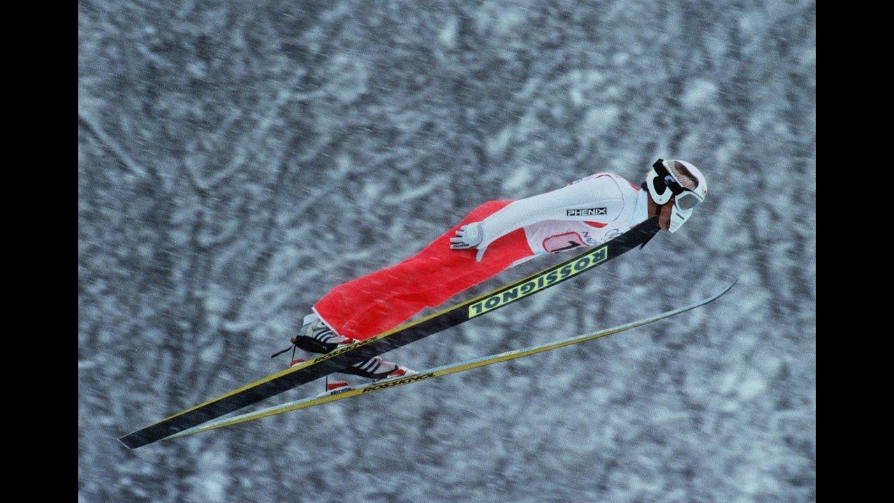 Japan's Ski Jump Take The Home Advantage - Nagano 1998 Winter Olympics