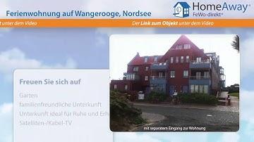 Wangerooge: Gemütliche, hochwertige Ferienwohnung als Rückzugsgebiet zum - FeWo-direkt.de Video