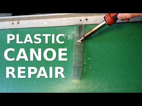 Plastic Canoe/Kayak Repair