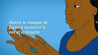 COVID19 masque tshiluba