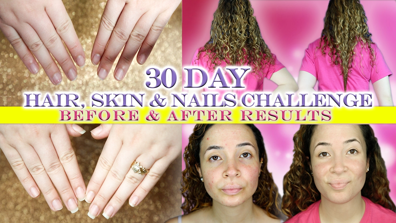Nature bounty hair skin and nails results