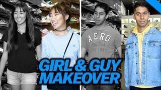 GIRL & GUY BACK TO SCHOOL MAKEOVER 2017
