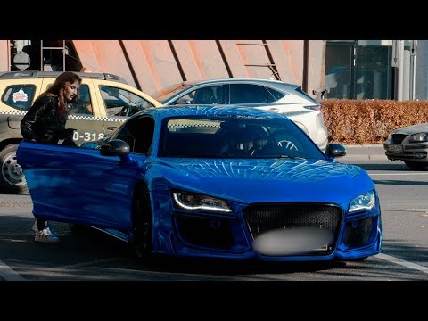 ТАКСИСТ на AUDI R8 | Picking Up Uber Riders in a AUDI R8