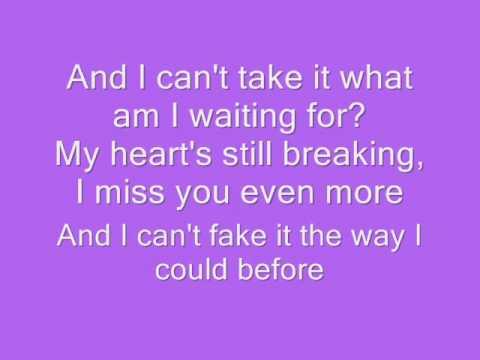 Stacie Orrico-Stuck KARAOKE with Lyrics